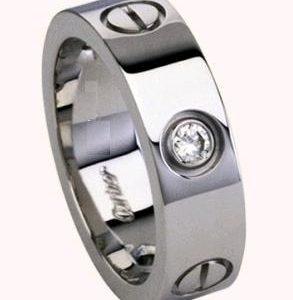 Кольцо Cartier Love Diamonds