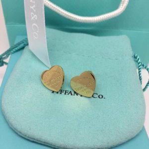 классические серьги-сердечки от Tiffany