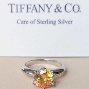 Кольцо Tiffany Yellow Diamond