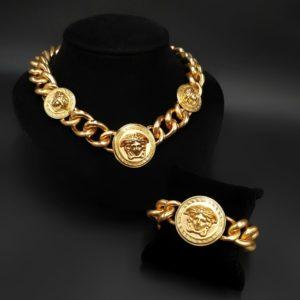 Колье и браслет Versace