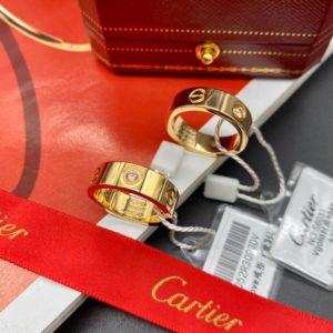 кольцо cartier lovt vgold